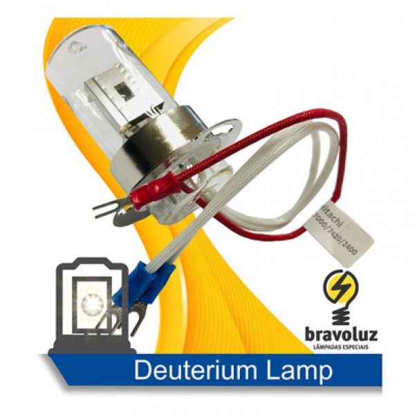 Deuterium Lamp 890-2430 for Hitachi, (Merck Hitachi), Varian