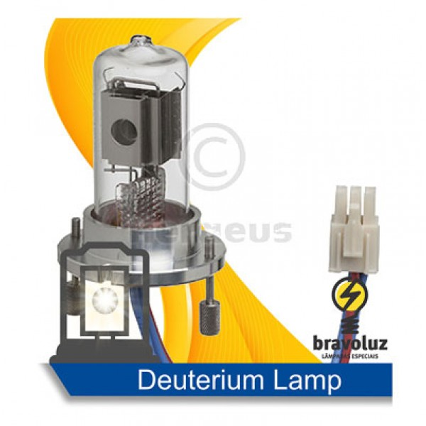 Deuterium Lamp for Dionex UltiMate DAD-3000, 3000RS, MWD-3000, MWD-3000RS, VWD-3000, VWD-3100, VWD-3400RS