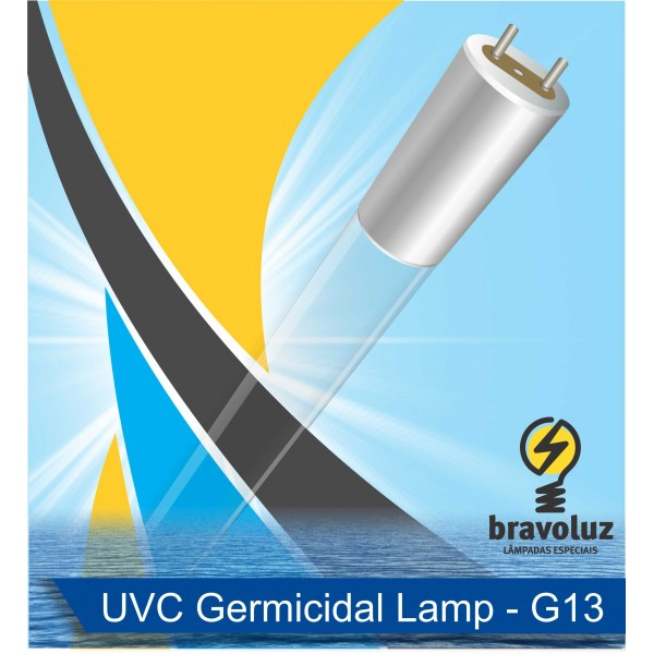 GERMICIDA 40W G13/T8 - 1199mm - Aluminum G13 base - JPNLAMP