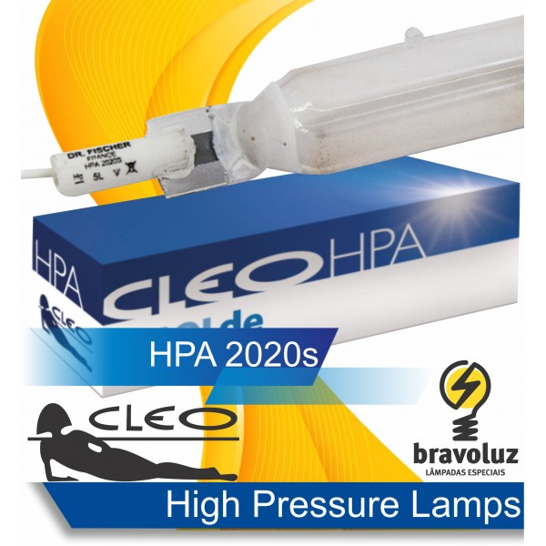 HPA 2020S - High Pressure Tanning Lamp - iSOLde