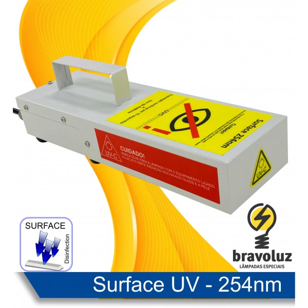 SURFACE 254nm - Esterilizador UV-C Portátil para superfícies - 127V