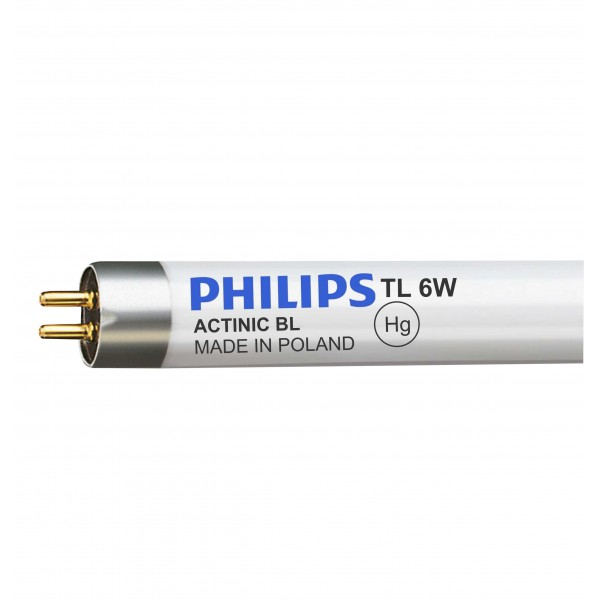 BLACK LIGHT 6W - TL 6W/10 - PHILIPS