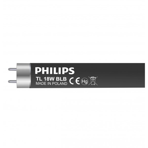 BLACK LIGHT BLUE 18W - TL-D 18W/08 - Philips