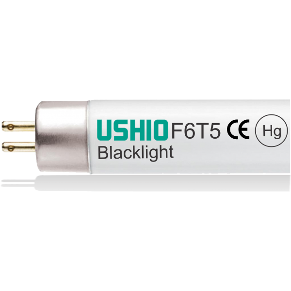 BLACK LIGHT 6W F6T5/BL - USHIO
