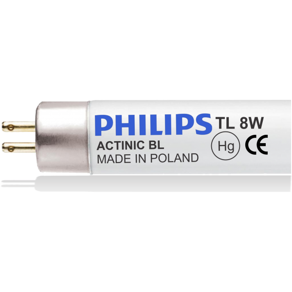 BLACK LIGHT 8W - ACTNIC BL 8W - PHILIPS