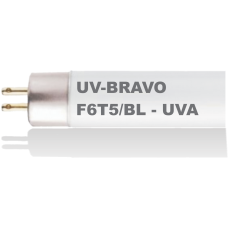 BLACK LIGHT 6W - F6T5/BL - UV-BRAVO