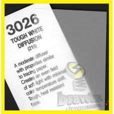 #3026 - TOUGH WHITE DIFFUSION - ROSCO CINEGEL +.